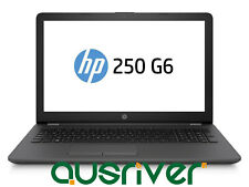 "HP 250 G6 15.6"" Intel Celeron 500GB 4GB USB No DVD Bluetooth Windows 10 Laptop"