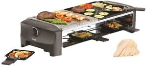 Petra Electric Raclette RC80.47 Steingrill Tischgrill Raclettegrill Elektrogrill