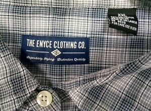 Enyce Clothing Co XXL Grey plaid long sleeve shirt