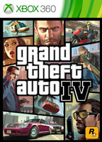 Jeu Grand Theft Auto GTA IV 4 / Pochette Uniquement sans Disque NO CD / Xbox 360