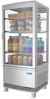 Commercial Countertop Refrigerator  Display Case Merchandiser - 3 cu. ft - LED