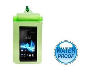 Housse étanche waterproof (Vert) pour Téléphone Mobile, MP3, Appareil Photo