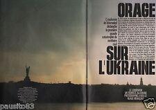Coupure de presse Clipping 1986 Catastrophe Tchernobyl  et la France  (12 pages)