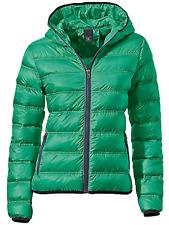 Heine @ Kaleidoscope Size 16 Green Quilted Feather Filled JACKET £93 Lightweight
