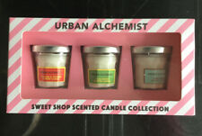 BNIB URBAN ALCHEMIST 3 Sweet Shop Scented Candle Collection 3 X 30g