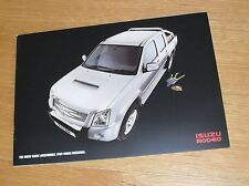 Isuzu Rodeo 4X4 Double Cab Pick Up Accessories Brochure 2008-2010