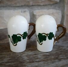 Vintage Metlox Poppy Trail Ivy Salt and Pepper Shaker Set Excellent Condition