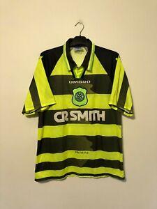 Celtic Away Football Shirt 1997/98 Large L 97/98