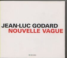 JEAN LUC GODARD   2CD BOX + LIVRET  NOUVELLE VAGUE  ECM
