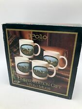 Vintage 1978 Polo Ralph Lauren Limited Edition Mug Coffee Cup Set