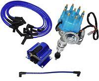 Ford Windsor V8 R2R Distributor 221 260 289 302 8mm Spark Plug Kit