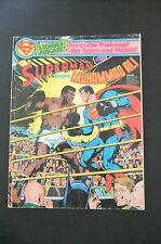 4.0 VG SUPERMAN VS. MUHAMMAD ALI TREASURY EDT # N.N GERMAN EURO VARIANT WP 1978