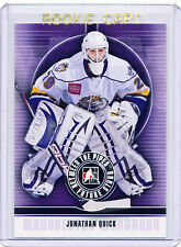 RC~JONATHAN QUICK 2008-09 Between The Pipes ROOKIE CARD~08~STANLEY CUP~KINGS~LAK