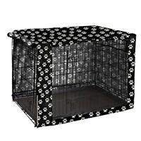 """Dog Crate Cover Durable Polyester Pet Kennel Cover Universal Fit for 36"""""""