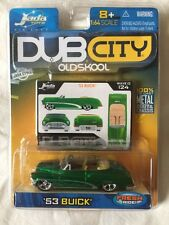 Jada Toys Dub City Old Skool '53 1953 Buick Convertible Green Diecast 1/64 Scale