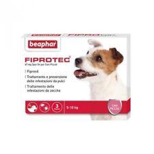Beaphar FIPROTEC Antiparassitario Cani 2-10kg 3pip FIPRONIL