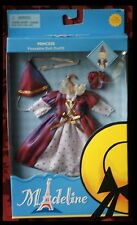 "New Madeline Doll Outfit 8"" Princess Queen Medevil Renaissance Costume Halloween"