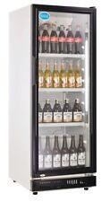 AG Gastro Flaschenkühlschrank Glastür 230 Liter 530x635x1442 - Schwarz