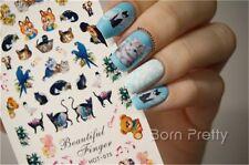 Water Transfer Nail Art Sticker Nagel Tattoo Aufkleber Design Dekoration