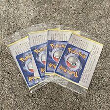 POKEMON NEO GENESIS / RARE MARILL PROMO CARD MINT SEALED BOOSTER / 4x PACKS!!!