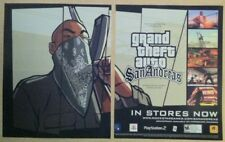 Grand Theft Auto San Andreas Poster Ad Print Playstation 2