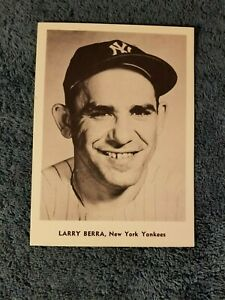 VINTAGE 1950s/60s JAY PUBLISHING LARRY YOGI BERRA NEW YORK  YANKEES NM