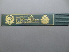 Leather BOOKMARK Kings Own Royal Border Regiment Museum Carlisle Castle Green