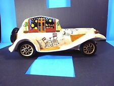 "HAND PAINTED ITALIAN DECOR ART POTTERY CAR COLLECTIBLE ANTIQUE RARE 12.5""L x 5""W"