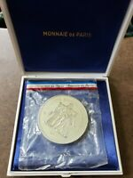 1979 France Proof Silver Piedfort 50 Francs KM P650 Gadoury 882p in Original Box