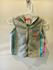Diva Baby Girl Sweat Pants/Vest Glitter 2 Piece Outfit Set 18 Months Nwt
