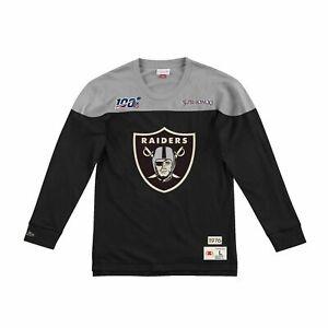 Men's Mitchell & Ness NFL Las Vegas/Oakland Raiders Throwbacks Retro Shirt