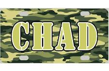CAMOUFLAGE MINI LICENSE PLATE Any Name Personalized Kids Bicycles Wagons