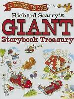 Richard Scarry's Giant Storybook Treasury: 12 Books in 1 - 200+ Pages A4 Size HC
