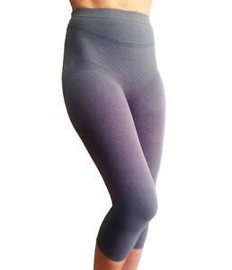 Bioflect FAR infrared Therapy Anti Cellulite Compression Slimming Capri Leggings