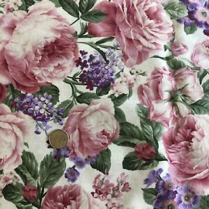 Petals from the Past ROSES #B688 by Hoffman Fabrics Quilting Fabric BY THE YARD