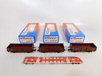 CE844-0,5# 3x Roco H0/DC 46010 Güterwagen 505 4 998-1 DB NEM, NEUW+OVP