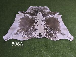 """New Cowhide Rugs Hair On COW HIDE Rugs Area Cow Skin Leather Rugs (44"""" x 44"""")"""