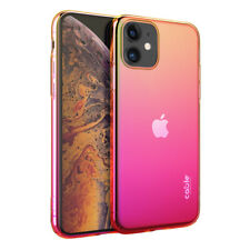 iSee Gradient for iPhone 11,cover Custodia sfumata colorata electroplating