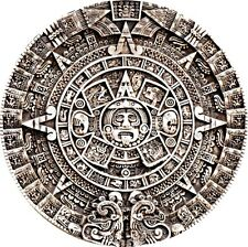 3D STL MODEL RELIEF ARTCAM CNC DECOR PANO MAYAN CALENDAR HIGH QUALITY