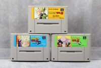 Super Famicom SFC Dragon Ball Z  Butouden 1 2 3 Japan SNES games US Seller
