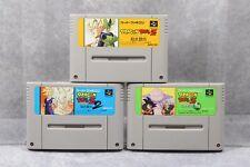 Super Famicom SFC Dragon Ball Z  Butouden 1 2 3 Japan SNES games US Seller