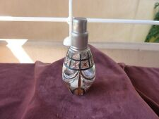 ancienne lampe berger verre peint