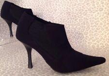 Women's 6 1/2 BCBGirls Black Ankle Boots