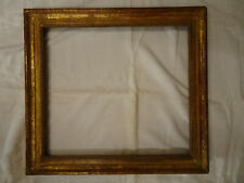 Cadre en bois sculpté et doré d'époque Louis XVI.Gravure,peinture,huile.XVIII°.