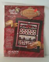 Jo Ann's Quilt Block Kit HOLIDAY TIDINGS April 2000 Step 4 Limited Addition