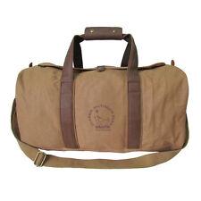 Tourbon Bag Hunting Outdoor Travel Duffle Canvas Leather Camping Safari Vintage