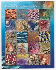 COCOS (KEELING) ISLANDS 2011 Vie marine poisson set neuf sans charnière Comme neuf STAMPS