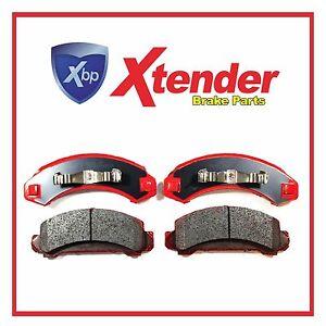 MD249 Front Brake Pad Semi Metallic Pads Set For Ford Bronco II Aerostar Ranger