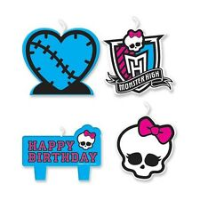 Monster High Happy Birthday Party Candles Decoration Kit