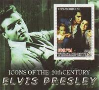 ELVIS PRISCILLA LISA MARIE PRESLEY FAMILY MINT MINIATURE STAMP SHEETLET